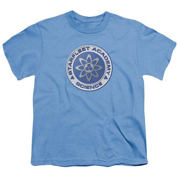Star Trek Science Short Sleeve Youth Carolina T-Shirt