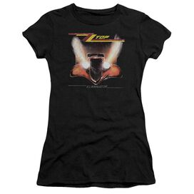 Zz Top Eliminator Cover Short Sleeve Junior Sheer T-Shirt
