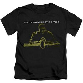 John Coltrane Mellow Yellow Short Sleeve Juvenile Black T-Shirt