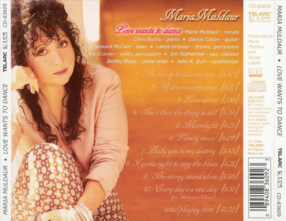 Love Wants To Dance By Maria Muldaur New On Cd Fye