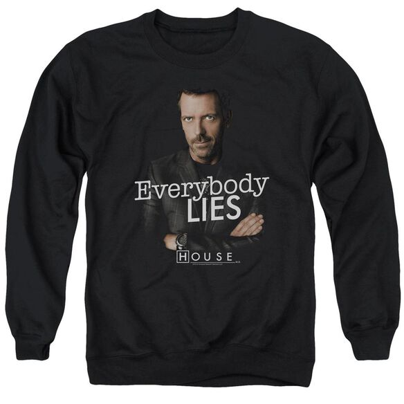House Everybody Lies Adult Crewneck Sweatshirt