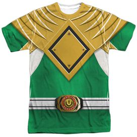 Power Rangers Green Ranger Short Sleeve Adult Poly Crew T-Shirt
