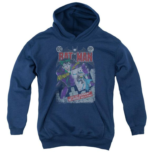 Batman #251 Distressed Youth Pull Over Hoodie