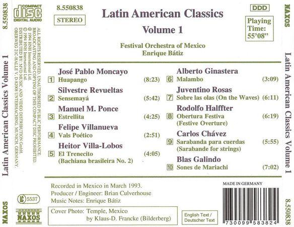 Latin American Classics 1 / Various