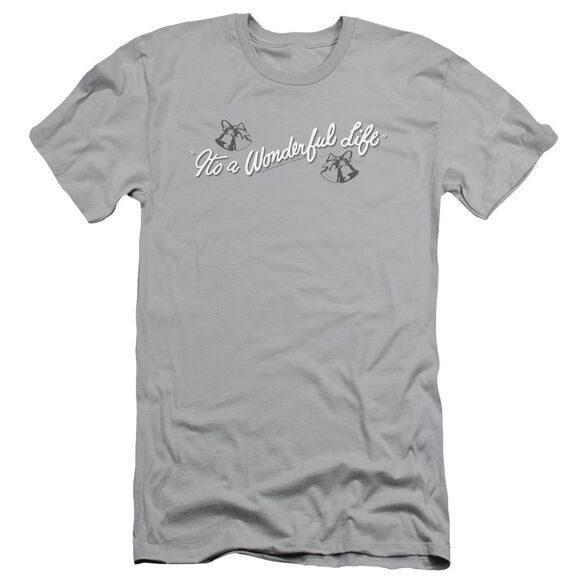 It's A Wonderful Life Logo Short Sleeve Adult T-Shirt