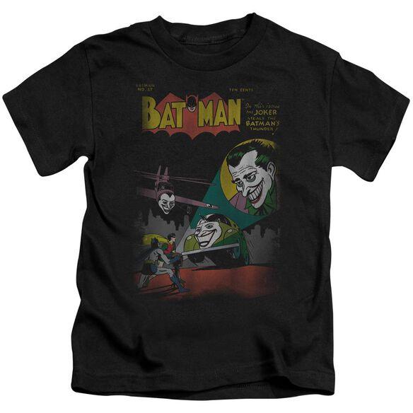 Dc Wrong Signal Short Sleeve Juvenile Black T-Shirt