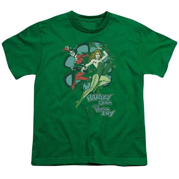 Dc Harley And Ivy Short Sleeve Youth Kelly T-Shirt