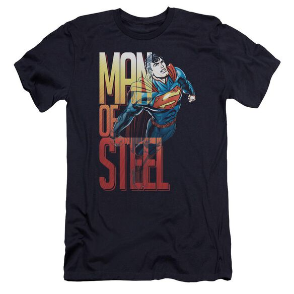 Superman Steel Flight Premuim Canvas Adult Slim Fit