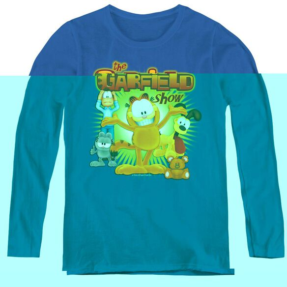 Garfield The Garfield Show-womens Long Sleeve