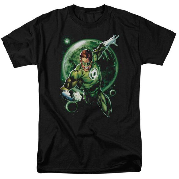 Green Lantern Galaxy Glow Short Sleeve Adult T-Shirt
