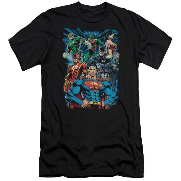 Jla Justice Is Served Short Sleeve Adult T-Shirt