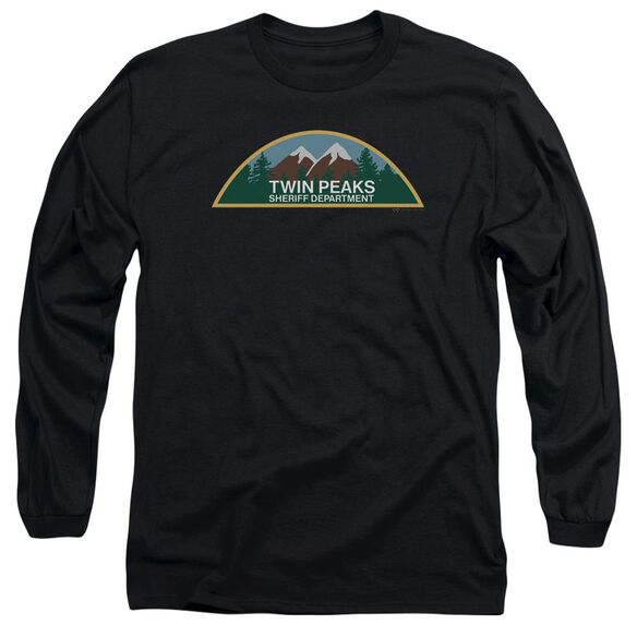 Twin Peaks Sheriff Department Long Sleeve Adult T-Shirt