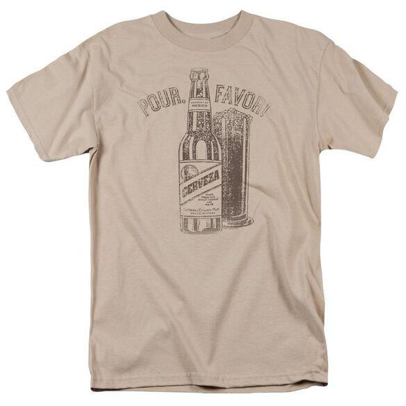 POUR FAVOR - ADULT 18/1 - SAND T-Shirt