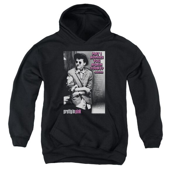 Pretty In Pink Admire Youth Pull Over Hoodie