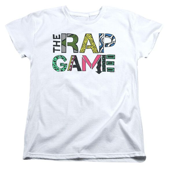 The Rap Game The Rap Game Logo Short Sleeve Womens Tee T-Shirt