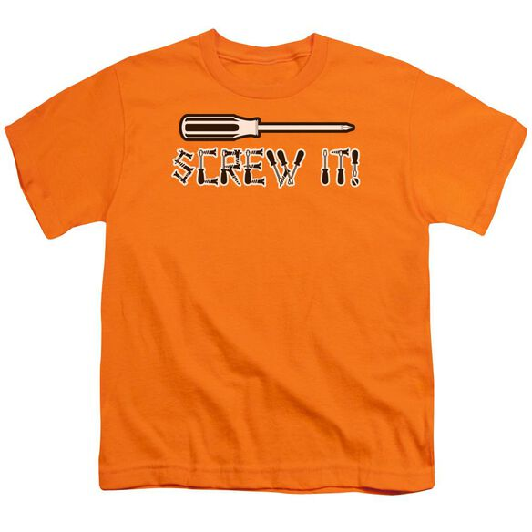 Screw It Short Sleeve Youth T-Shirt