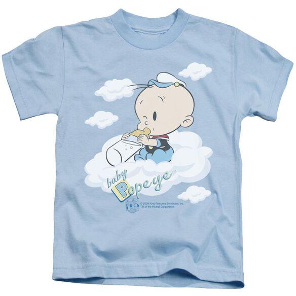 POPEYE BABY CLOUDS - S/S JUVENILE 18/1 - LIGHT BLUE - T-Shirt