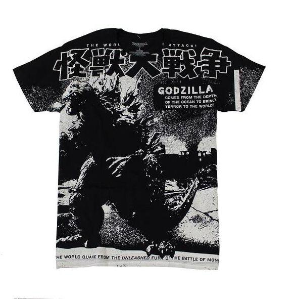 Godzilla Poster T-Shirt