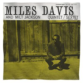 Miles Davis Miles And Milt Bandana White