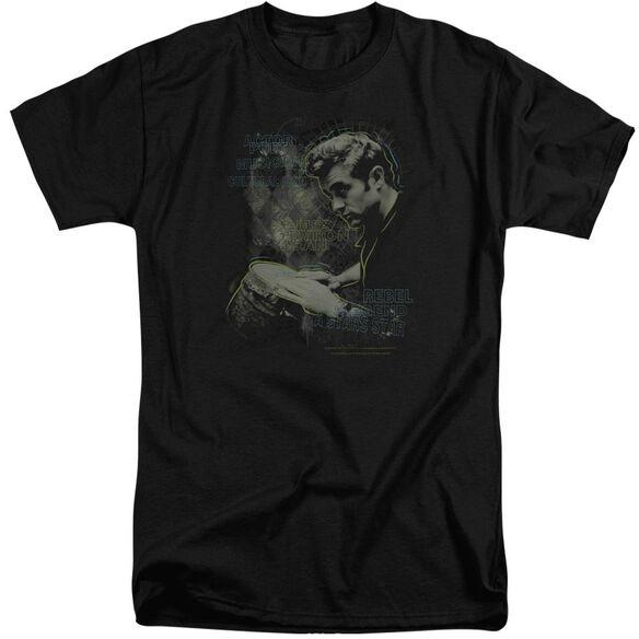 Dean Bongo Words Short Sleeve Adult Tall T-Shirt