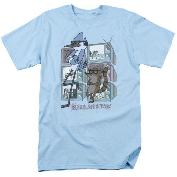 Regular Show Tv Too Cool Short Sleeve Adult Light T-Shirt