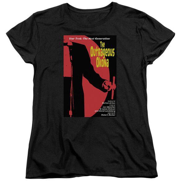Star Trek Tng Season Episode 4 Short Sleeve Womens Tee T-Shirt