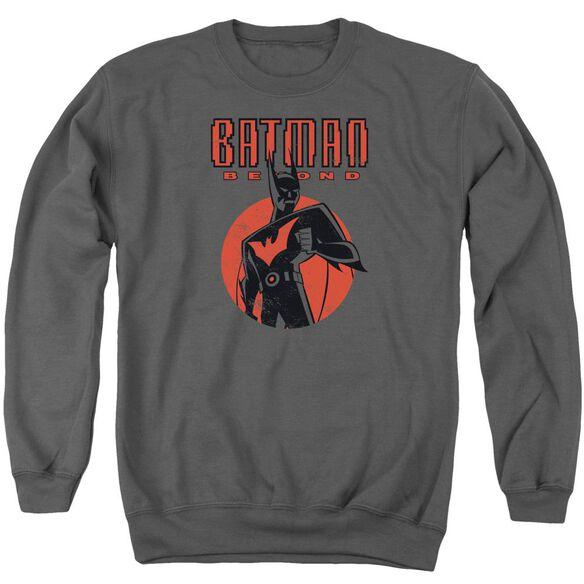Batman Beyond Iconic Pose Adult Crewneck Sweatshirt