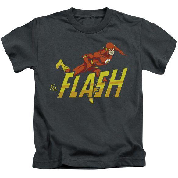 Dc 8 Bit Flash Short Sleeve Juvenile Black T-Shirt