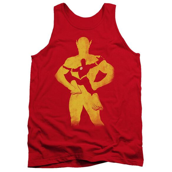 Jla Flash Knockout Adult Tank