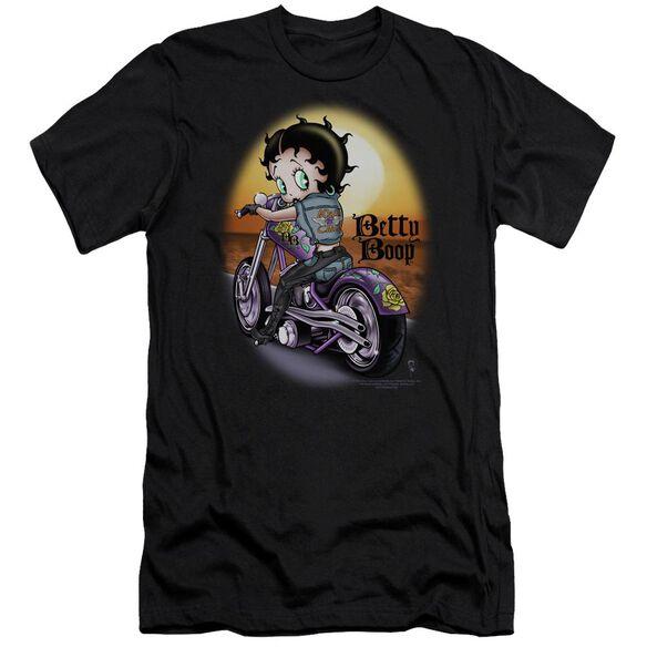 Betty Boop Wild Biker Short Sleeve Adult T-Shirt