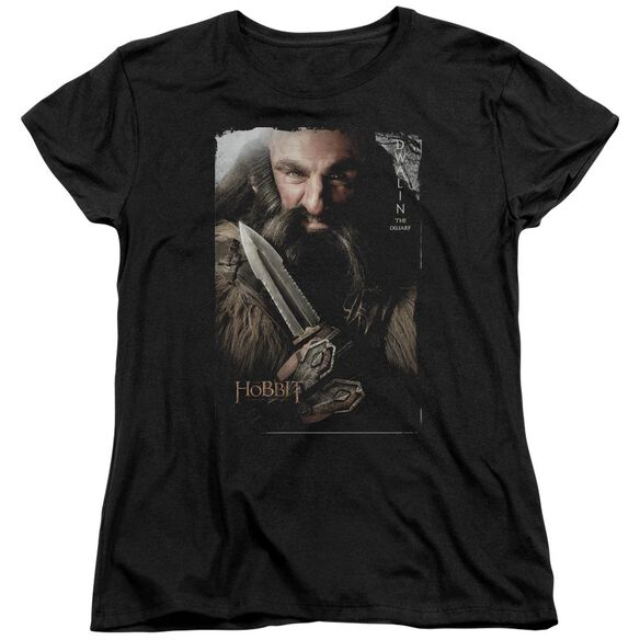 The Hobbit Dwalin Short Sleeve Womens Tee T-Shirt