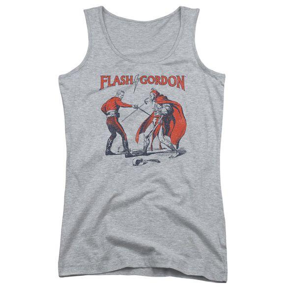 Flash Gordon Duel Juniors Tank Top Athletic