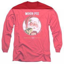 Moon Pie Snacks For Santa Long Sleeve Adult T-Shirt