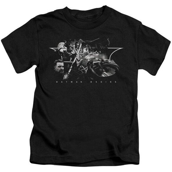 Batman Begins Night Natives Short Sleeve Juvenile T-Shirt