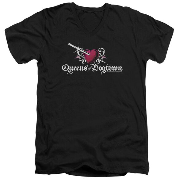 Californication Queens Of Dogtown Short Sleeve Adult V Neck T-Shirt