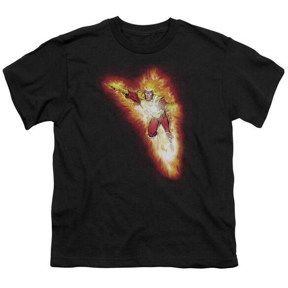 Jla Firestorm Blaze Short Sleeve Youth T-Shirt