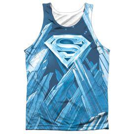 Superman Solitude Adult 100% Poly Tank Top