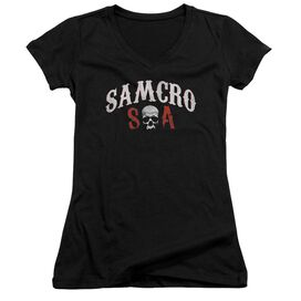 Sons Of Anarchy Samcro Forever Junior V Neck T-Shirt