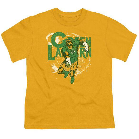 Dc Cosmic Strip Short Sleeve Youth T-Shirt