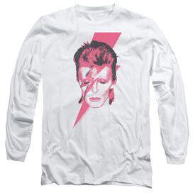 David Bowie Aladdin Sane Long Sleeve Adult T-Shirt
