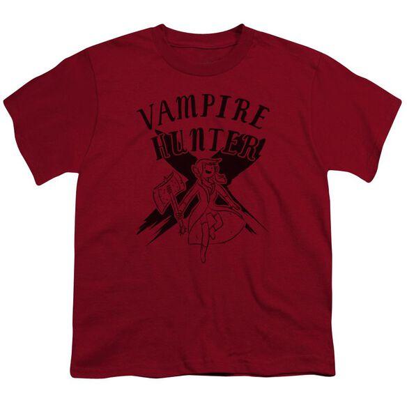 Adventure Time Vampire Hunter Short Sleeve Youth T-Shirt