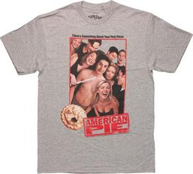 American Pie Group Photo Gray T-Shirt