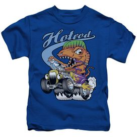 Hotrod Short Sleeve Juvenile Royal T-Shirt