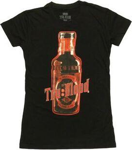 True Blood Bottle Baby Tee