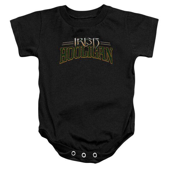 Hooligan Infant Snapsuit Black