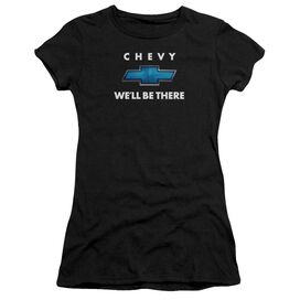 Chevrolet We'll Be There Short Sleeve Junior Sheer T-Shirt