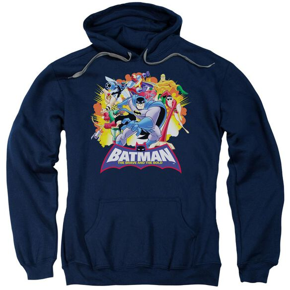 Batman Bb Explosive Heroes Adult Pull Over Hoodie