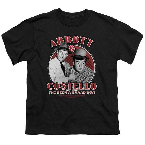 Abbott & Costello Bad Boy Short Sleeve Youth T-Shirt