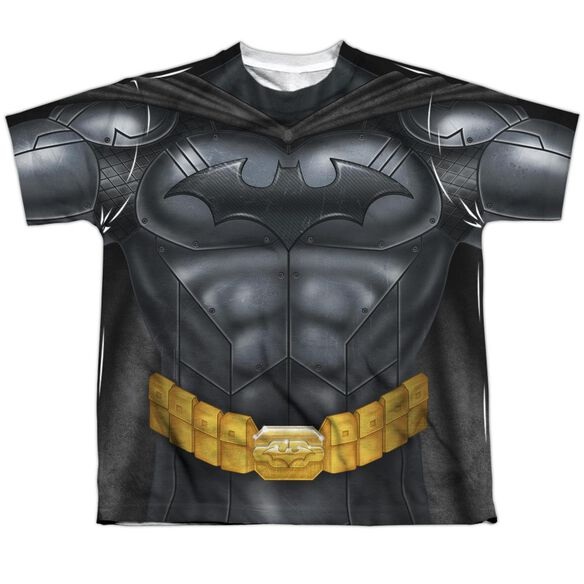 Batman Batman Athletic Uniform Short Sleeve Youth Poly Crew T-Shirt