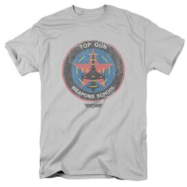 Top Gun Flight School Logo Short Sleeve Adult T-Shirt